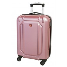"Swiss Gear 20"" Spinner Carry-On Luggage Escapade 3 Dusty Rose"