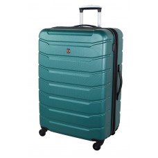 """Swiss Gear 28"""" Spinner Expandable Luggage VaianaTeal"""