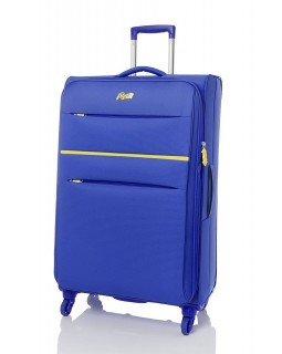 "Rosetti 28"" Expandable Spinner Suitcase Sunshine 17 Blue"