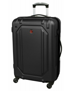 "Swiss Gear 28"" Spinner Expandable Luggage Escapade 3 Black"