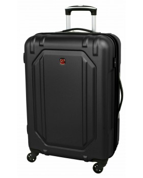 """Swiss Gear 28"""" Spinner Expandable Luggage Escapade 3 Black"""