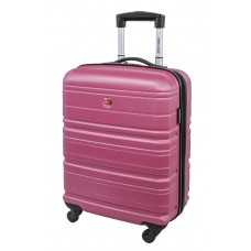 "Swiss Gear 20"" Spinner Carry-On Luggage Migration Magenta"