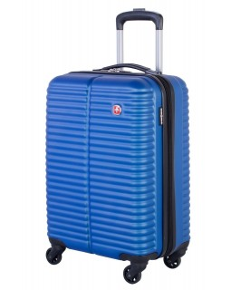 "Swiss Gear 20"" Spinner Carry-On Luggage Monthey Royal Blue"