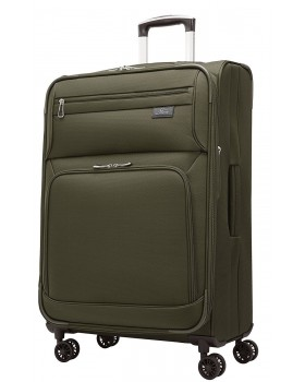 """Skyway 25"""" Expandable Spinner Luggage Sigma 5.0 Forest Green"""