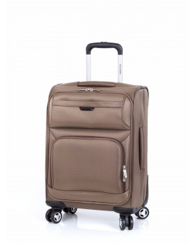 "Ricardo Beverly Hills 19"" Carry-On Spinner Luggage Malibu 2.0 Lites Sand"