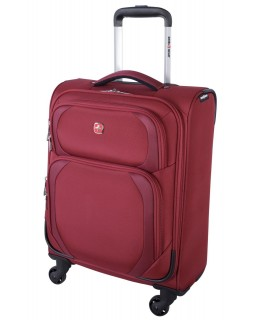 "Swiss Gear 20"" Spinner Carry-On Luggage Clariden Red"