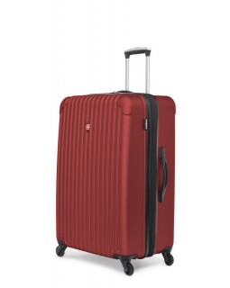 "Swiss Gear Linigno 28"" Hard Side Spinner Expandable Luggage Burnt Orange"
