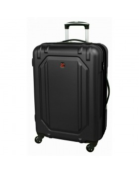 "Swiss Gear Escapade 3 24"" Spinner Expandable Luggage Black"