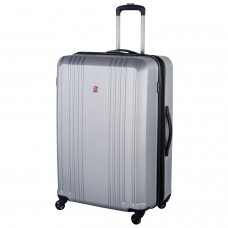"Swiss Gear 28"" Expandable Hardside Luggage Cristalina Silver"