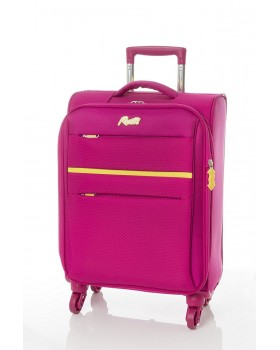 """Rosetti 19"""" Expandable Carry-On Spinner Sunshine 17 Berry"""