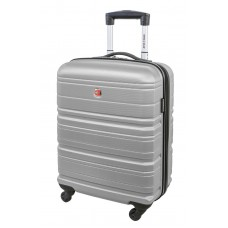 """Swiss Gear 20"""" Spinner Carry-On Luggage Migration Silver"""