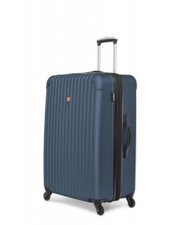 "Swiss Gear Linigno 28"" Hard Side Spinner Expandable Luggage Blue"