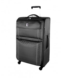 "Atlantic 28"" Spinner Expandable Luggage Velocity Lite Charcoal"