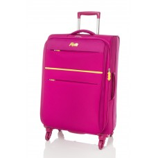 "Rosetti 24"" Expandable Spinner Suitcase Sunshine 17 Berry"