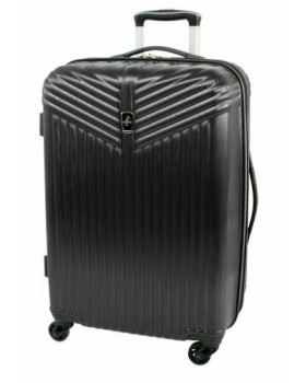 "Atlantic Priority 3 20"" Spinner Carry on Luggage Black"