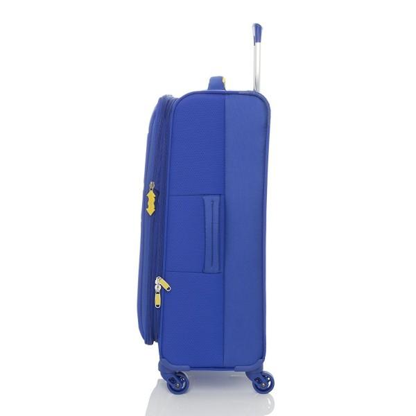 "Rosetti 24"" Expandable Spinner Suitcase Sunshine 17 Blue"
