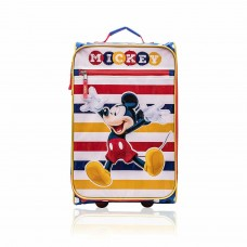 "Disney Mickey Mouse Rolling 18"" Junior Suitcase"