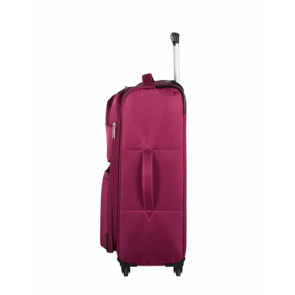 "Atlantic Velocity Lite 24"" Spinner Expandable Luggage Raspberry"