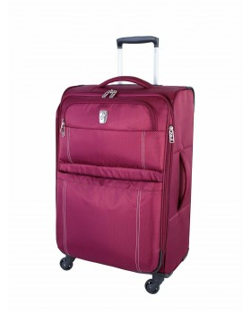 "Atlantic Velocity Lite 24"" Spinner Expandable Luggage Raspberry"