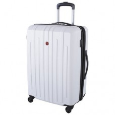 """Swiss Gear 28"""" Spinner Expandable Luggage Blackcomb White"""
