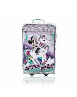 "Disney Minnie Mouse Rolling 18"" Junior Suitcase"