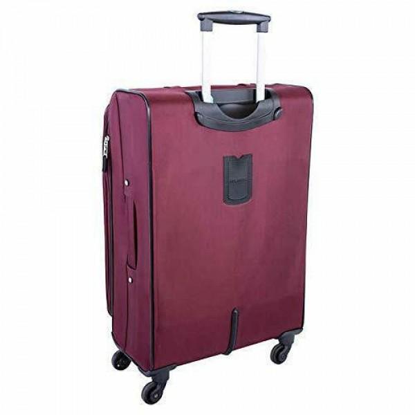 "Atlantic Medallion 28"" Spinner Expandable Luggage Burgundy"