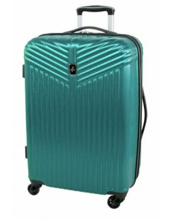 "Atlantic Priority 3 24"" Spinner Expandable Luggage Blue"