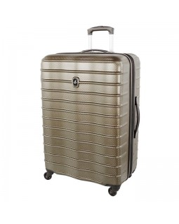 "Atlantic Destination II 24"" Spinner Expandable Luggage Champagne"