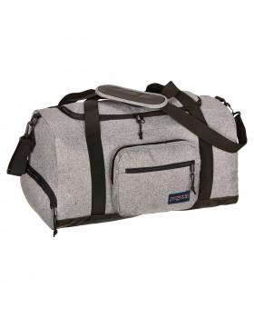 Jansport City Duffle Bag Grey Letterman Poly