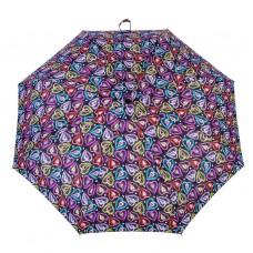 Knirps Belami Folding Telescopic Umbrella Automatic Open & Close Hearts