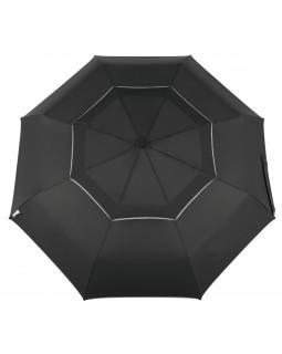 Reflectek Compact Vented Panels Umbrella Auto Open / Close Jumbo Black