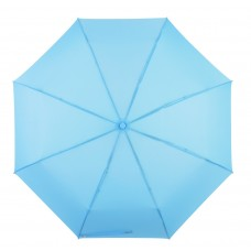 Knirps Belami Folding Telescopic Umbrella Ocean Blue