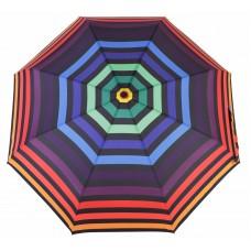 Knirps Belami Folding Telescopic Umbrella Automatic Open & Close Multi Stripes