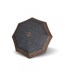 Derby Hit Mini Automatic Open Folding Telescopic Umbrella Flower Brown
