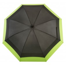 Knirps Belami Jumbo Windproof Stick Umbrella Black / Green