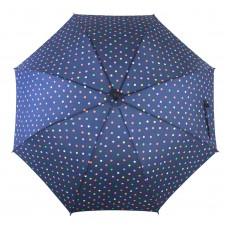 Knirps Belami Stick Umbrella Automatic Open Polka dot