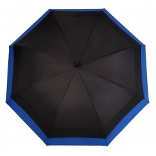 Knirps Belami Jumbo Windproof Stick Umbrella Black / Blue