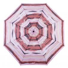 Knirps Belami Folding Telescopic Umbrella Paprika Aquarelle Stripes Print