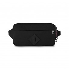 JanSport Waisted Fanny Pack Black Ballistic Nylon