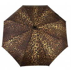 Knirps Belami Folding Telescopic Umbrella Automatic Open & Close Leopard