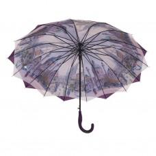 Austin House Stick Umbrella Double Canopy Purple