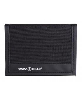 Swiss Gear Trifold Wallet Black