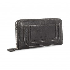 Joanel Barbara Women's Wallet With RFID Black