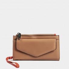 Co Lab Wristlet Wallet Sara Camel