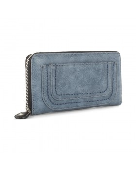Joanel Barbara Women's Wallet With RFID Denim
