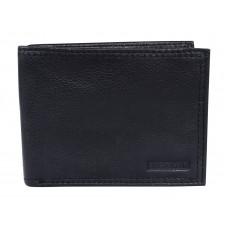 Swiss Gear Leather Slim Billfold Wallet RFID