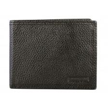 Swiss Gear Leather Billfold Wallet with Top ID Flap RFID