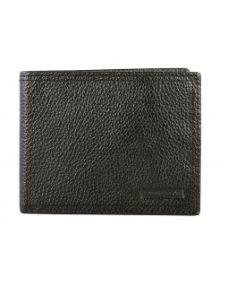 Swiss Gear Leather Billfold Wallet with Top ID Flap RFID